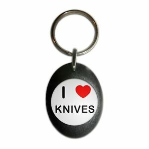 Button Badge I love Knives Choice 25mm//55mm//77mm Novelty Fun BadgeBeast