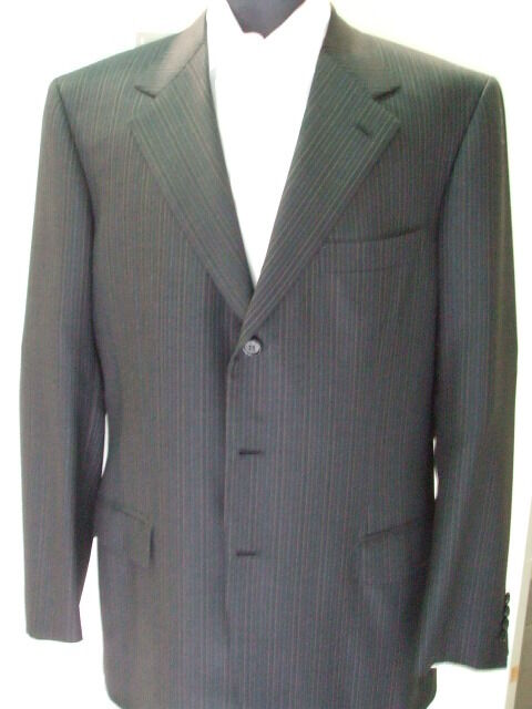 NEW BRIONI  Suit  100% Super 150 s Wool    42 Us 52 Eu Made in  (BR19)