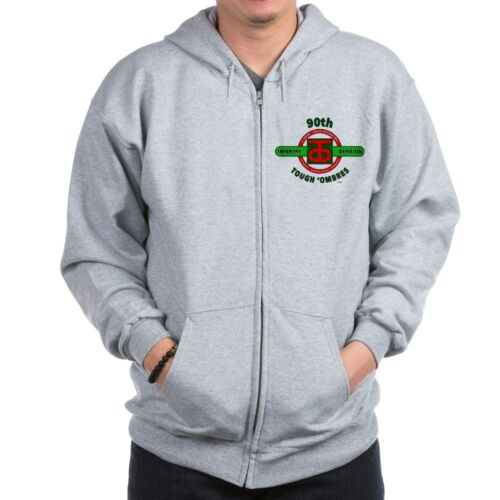 """95TH INFANTRY DIVISION WW II/""""IRON MEN OF METZ/""""CAMPAIGN LEFT CHEST ZIPPER HOODIE"""