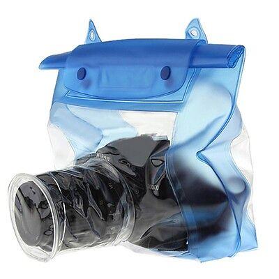 Waterproof DSLR SLR Camera Underwater Housing Case Pouch Dry Bag For Canon Nikon