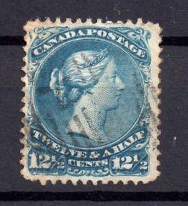 Canada-QV-1868-12-1-2c-SG-60C-good-used-WS15613