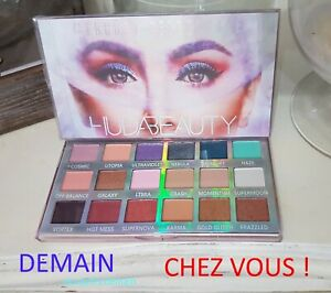 Palette-fards-a-paupieres-Huda-Beauty-Mercury-Retrograde-neuve-envoi-express