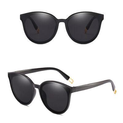 New Fashion Oversized Sunglasses Cat Eye Flat UV400 Eyewear Mirror Square Women