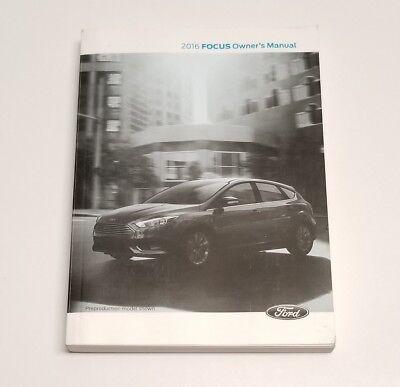 ford focus owners manual titanium se