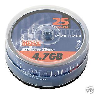 Platinum-DVD-R-25er-Spindel-16x-Speed-DVD-Rohlinge-100302