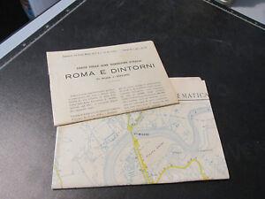 Roma Y Umgebung Papel Turismo Touring Club Italiano Libros Revistas