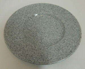 One-Ultrastone-Gray-CU726-by-Mikasa-Saucer-Gray-Speckeled