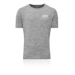 Union-de-definition-Homme-Thor-T-Shirt-Tee-Top-Gris-Sports-Gym-Course-Respirant
