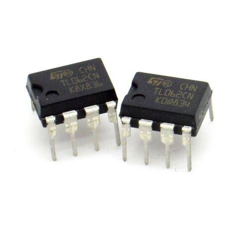 216ic121 ST 2x Circuit TL062CN Dual Jfet-input Op-Amp DIP-8