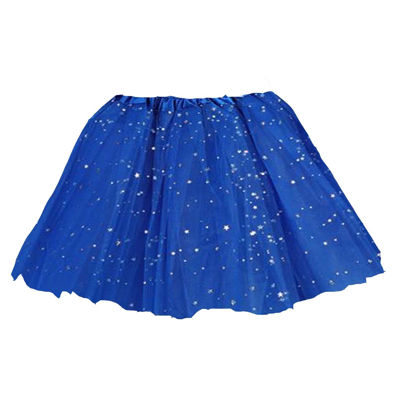 Tüll Rock Tütü Tutu Tüllrock Ballettrock Petticoat Balletkleid 3lagig Apricot