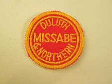 Duluth Missabe and Northern Railway Railroad Embroidered Sew On Patch