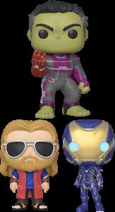 Funko Pop!   Avengers 4: Endgame (ensemble de 3)