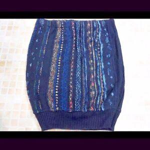 La Fourniture Femmes Pull Jumper Knited Vintage Moulante Jupe Taille 2 Uk 10 Multi Grade A Lb1145-afficher Le Titre D'origine