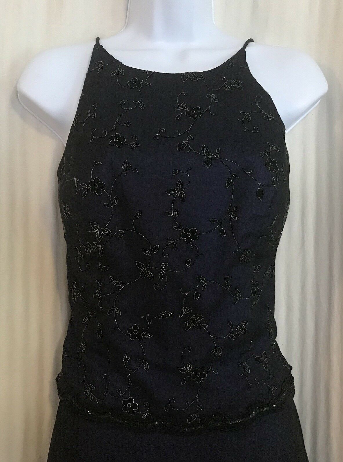 Blondie Nites by Jaslene 2 Piece Formal Prom Pageant Party Dress Women Size 7/8