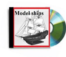 Rivendita business vasta collezione di modelli di navi piani DVD ROM Package DEAL