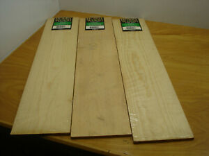 3 Pkg Clear Pine Hobby Wood Woodworking Crafts 1 4x5 1 4x24 Scroll Projects Nip Ebay