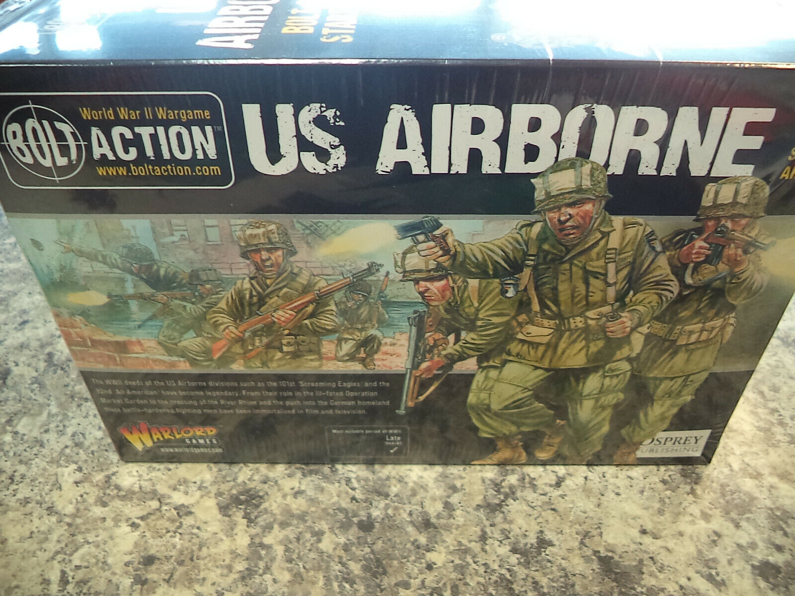 US Airborne Army Starter Set Bolt Action WWII Warlord Games Models New