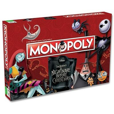 MONOPOLY THE NIGHTMARE BEFORE CHRISTMAS