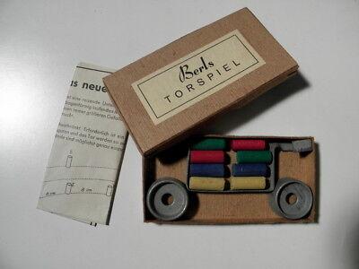unbespielt  *** Tolles altes Spiel *** Berls Torspiel ~1945//50 Lagerbestand