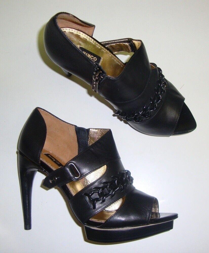 MIMCO Pumps / High Heels 37 mit Pfennigabsatz schwarz NEU