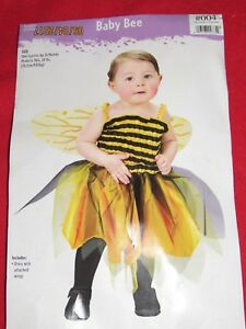 Image is loading New-Infant-Girls-034-Baby-Bee-034-Halloween-  sc 1 st  eBay & New Infant Girls