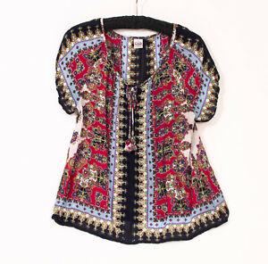 EUC-Bohomian-Style-Bila-Blouse-US-Large