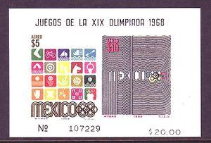 80% OFF SCOTT! MEXICO SOUVENIR SHEET LOT: #C344a (10) SCV $200