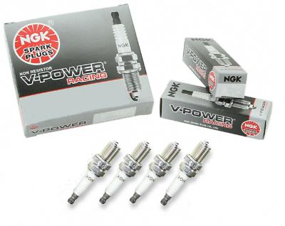 NGK 4644//BKR7E V-POWER PREMIUM SPARK PLUGS SET OF 6