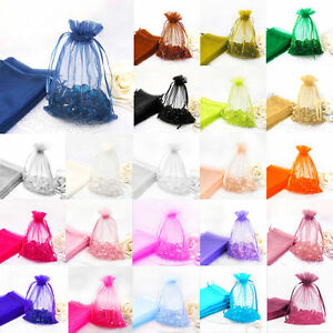 Premium-Organza-Gift-Bags-Jewellery-Pouches-XMAS-Wedding-Party-Candy-Favour
