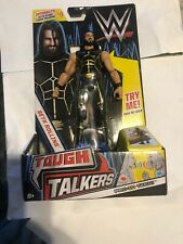"6/"" Mattel WWE Tough Talkers Seth Rollins Figure"