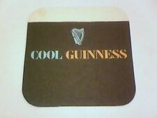 GUINNESS  COOL  Beermat / Coaster 2 sided  What a good idea