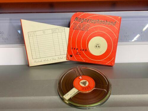Nastro magnetico bobina anche Geloso BASF diametro 14,5 cm