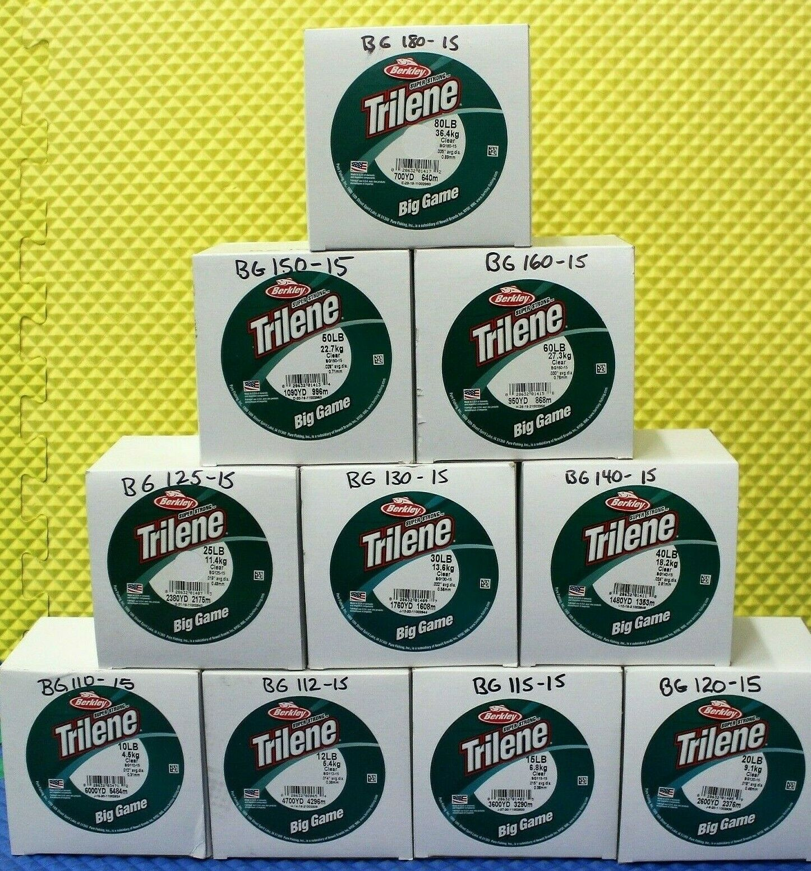 Berkley Trilene Big Game Green 0,33mm 8,5kg 1000m Monofile Angelschnu 0,01€//1m