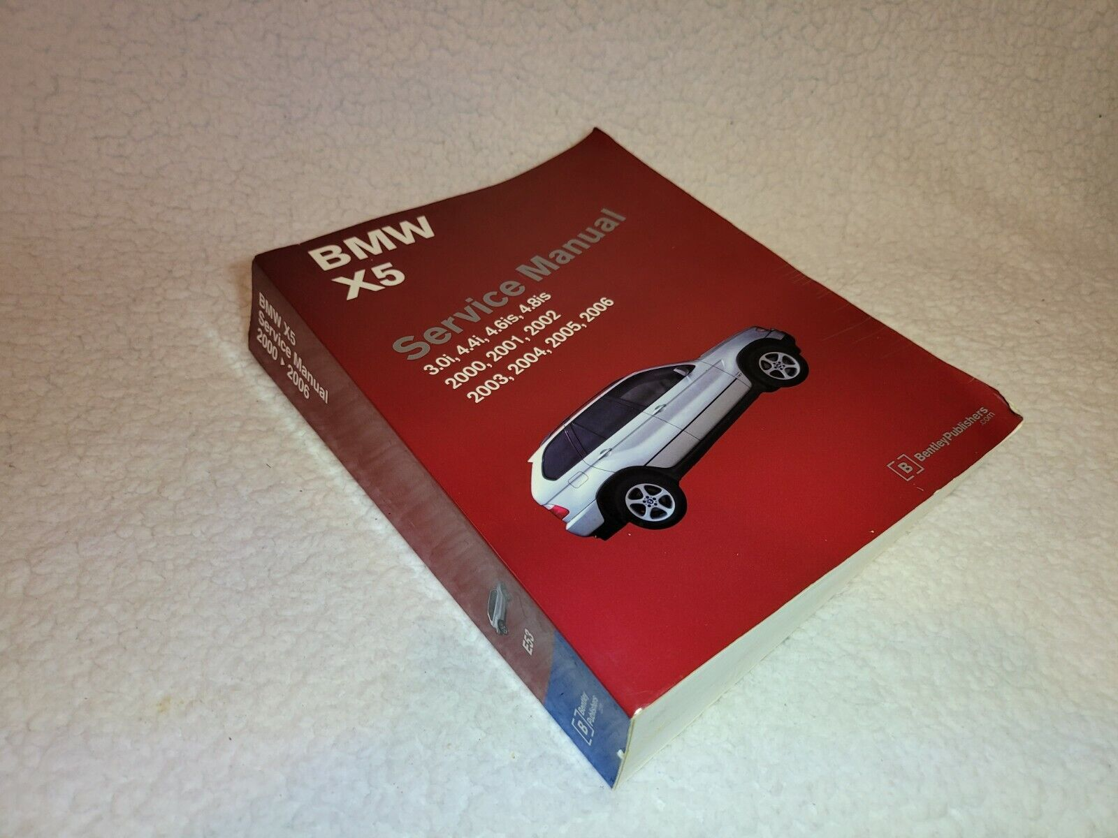 Bmw X5 Service Manual E53 2000 To 2006 By Bentley Publishers 2007 For Sale Online Ebay