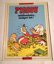 "Collection Walt Disney Picsou "" Milliardaire, Malgré Lui ! 1981 Dargaud Editeur"