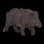 Mojo WILD BOAR Wild zoo animals play model figure toys plastic forest