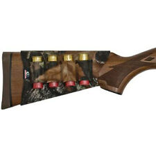 CAMO neoprene mossy oak Buttstock 4  shotgun shell holder stock  MO-NBSH-BU