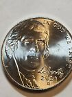 2021 D Jefferson Nickel -  BU Coin Pulled From OBWRoll