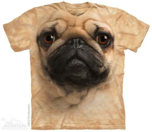 All Sizes Big Pug Face The Mountain T-Shirt 3369