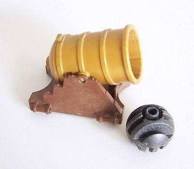 PLAYMOBIL PIRATES A2225 Canon à Gros Boulets pour Bateaux /& Soldats 3111
