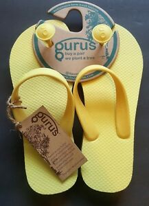 1e60d587098a8c Image is loading Gurus-Womens-Natural-Rubber-Flip-Flops-Sustainable-Sandals-