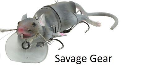 Savage Gear 3D Rad Rat Surface Pêche Leurre Kit de maintenance pike bass Zander