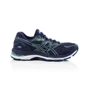 5477ac5412fa Asics Gel Nimbus 20 Wide (D) Women s Running Shoes- Indigo Blue ...