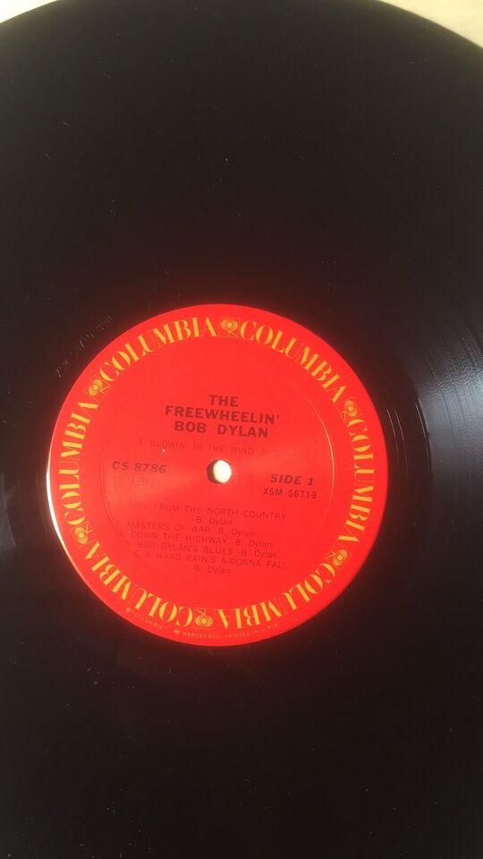 LP, Bob Dylan, The Freewheelin 'Bob Dylan