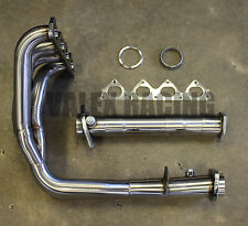 Private Label (PLM) Toda Style B Series Header W/ Test Pipe Honda Acura B16 B18