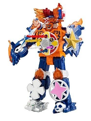 Power Rangers Super Ninja Steel Megazord Figure, Blaze Megazord FREE SHIPPONG