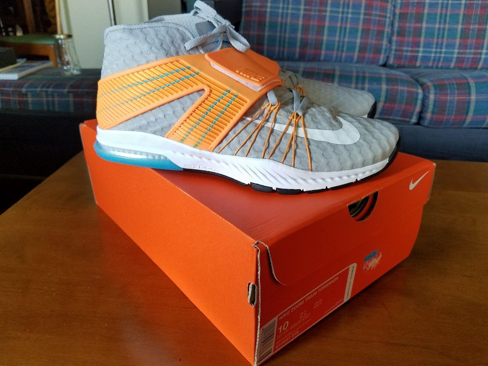 Nike Zoom tren blanco gris naranja tren vivo al cruzar el tren naranja reducción de precio e74932