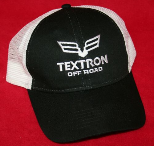 TEXTRON OFF ROAD Snapback Mesh HAT CAP NEW 4x4 ATV Wildcat Alterra Artic Cat