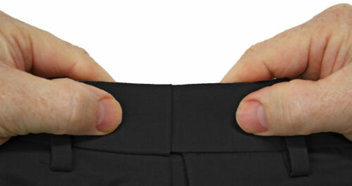 Big /& Tall Savane Ultimate Performance Flat Front Casual Pants Expandable Waist
