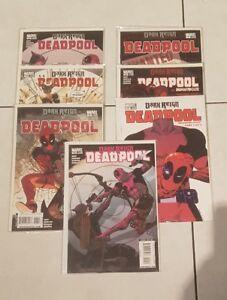 Marvel-comic-Deadpool-lot-of-7-Deadpool-Dark-Reign